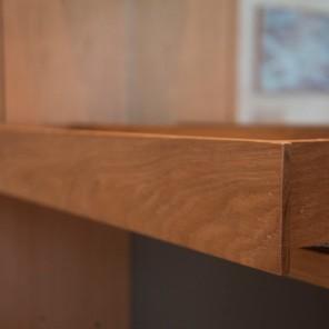 Cajón acabado en madera