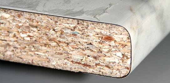 Madera aglomerado Estratificado